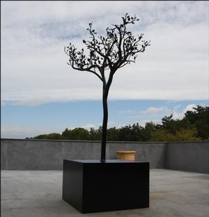 arbre en fer forg sculpture v g tale en m tal artiste sculpteur jean phi fally avignon fally. Black Bedroom Furniture Sets. Home Design Ideas