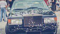 Rolls Royce Végétalisée